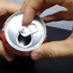 Cómo extraer la anilla de la lata sin romperla