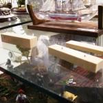 Barcos en Botella. Proceso de montaje