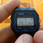 Cómo Funciona el Reloj Casio F-91W (alarma, cronómetro, cambio de hora y fecha)