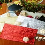 Cómo Hacer Bolsos de Fiesta Navideños |DiY