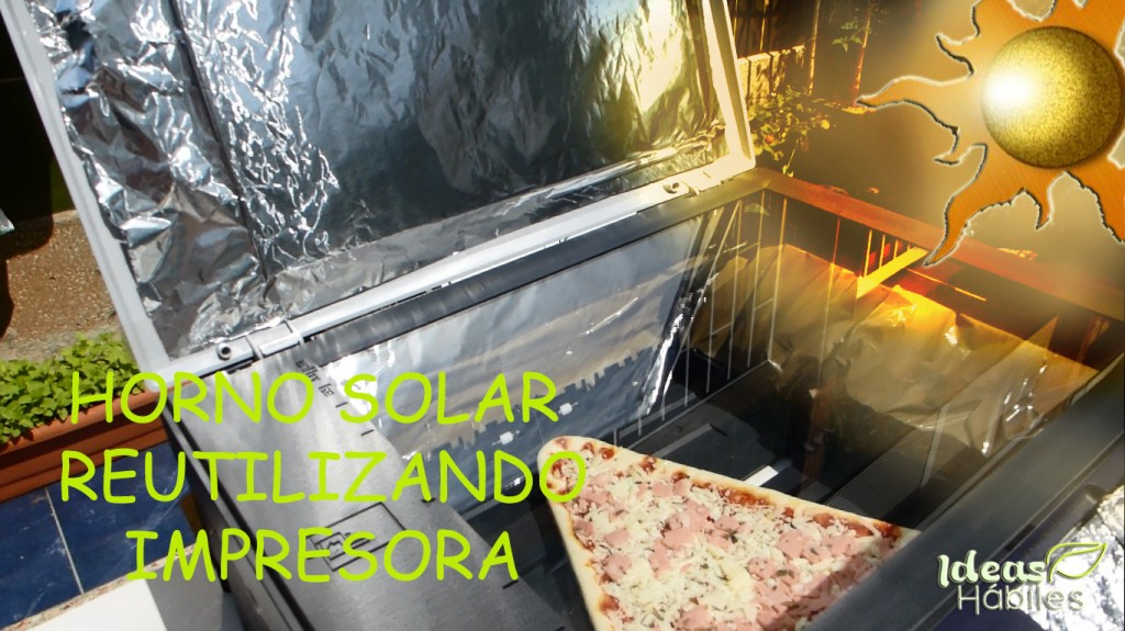 Miniatura horno solar impresora