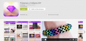 Pulseras y Collares DiY apariencia Play Store
