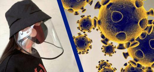 Gorra casera protectora contra coronavirus